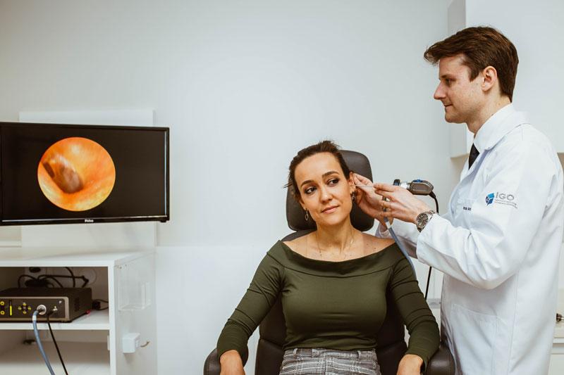 Vídeo-otoscopia